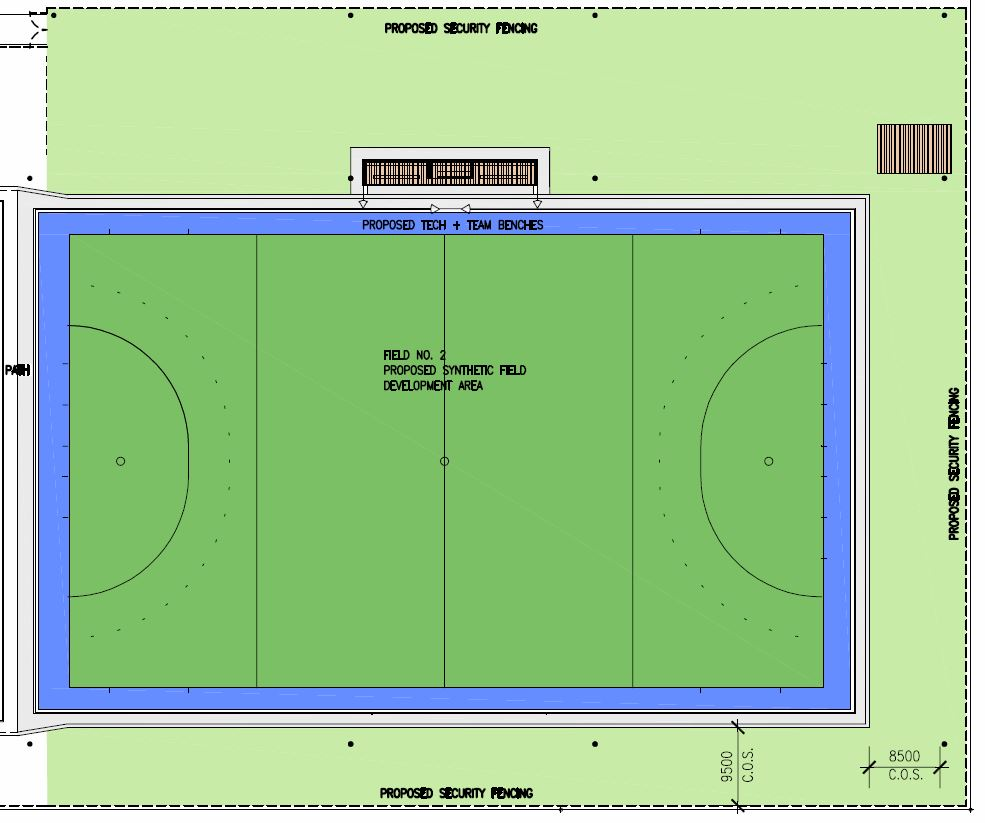 Plans For New Synthetic Hockey Pitch In The Burringbar