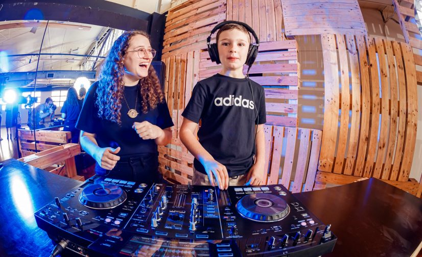 Kids Mix Music at this Westfield Chermside DJ Academy